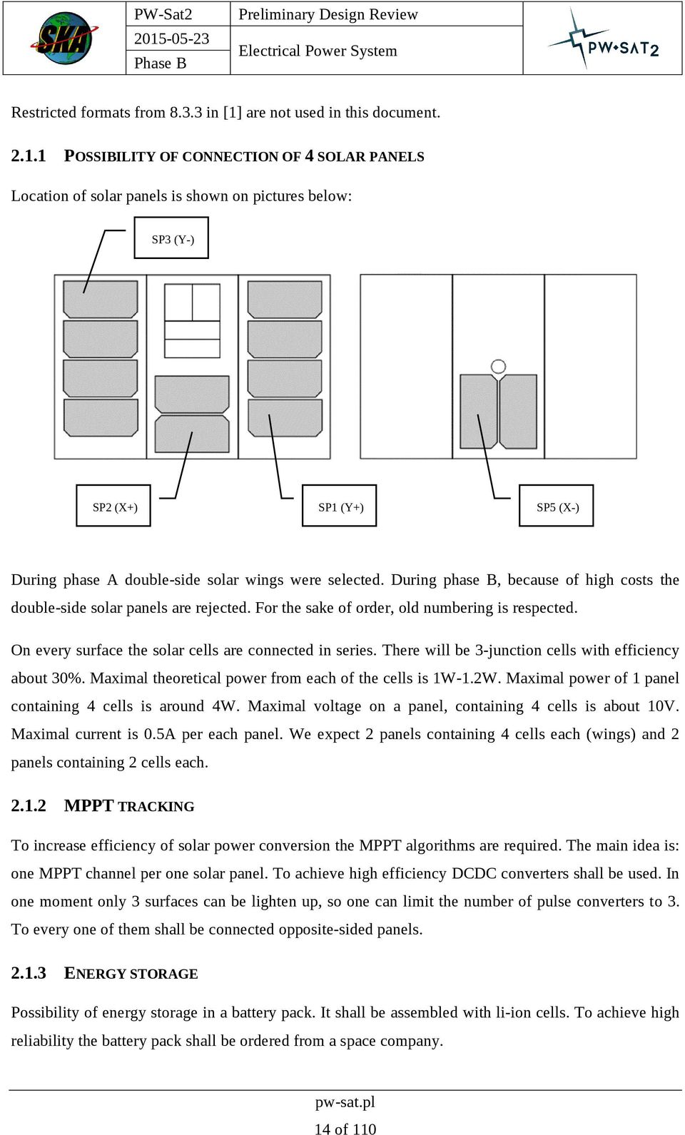 Preliminary Design Review Pdf How To Build Solar Lamp Using Pr4403 1 Possibility Of Connection 4 Panels Location Is Shown On Pictures