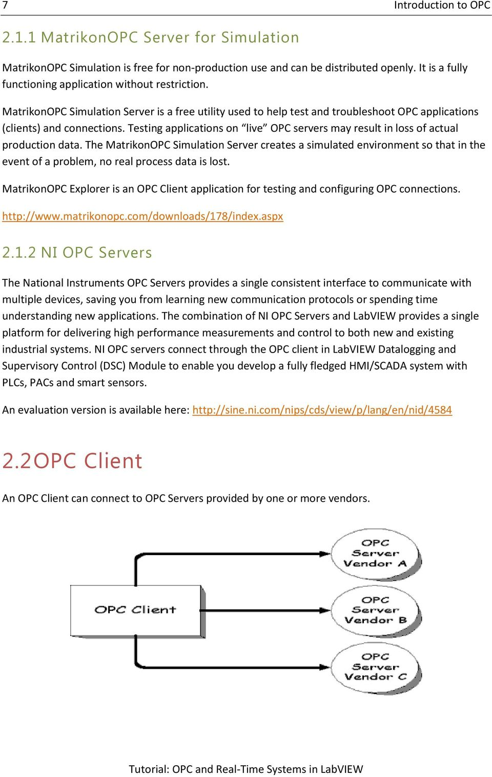 OPC and Real-Time Systems in LabVIEW - PDF