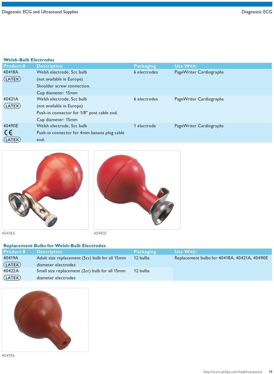 Diagnostic ECG and ultrasound supplies - PDF