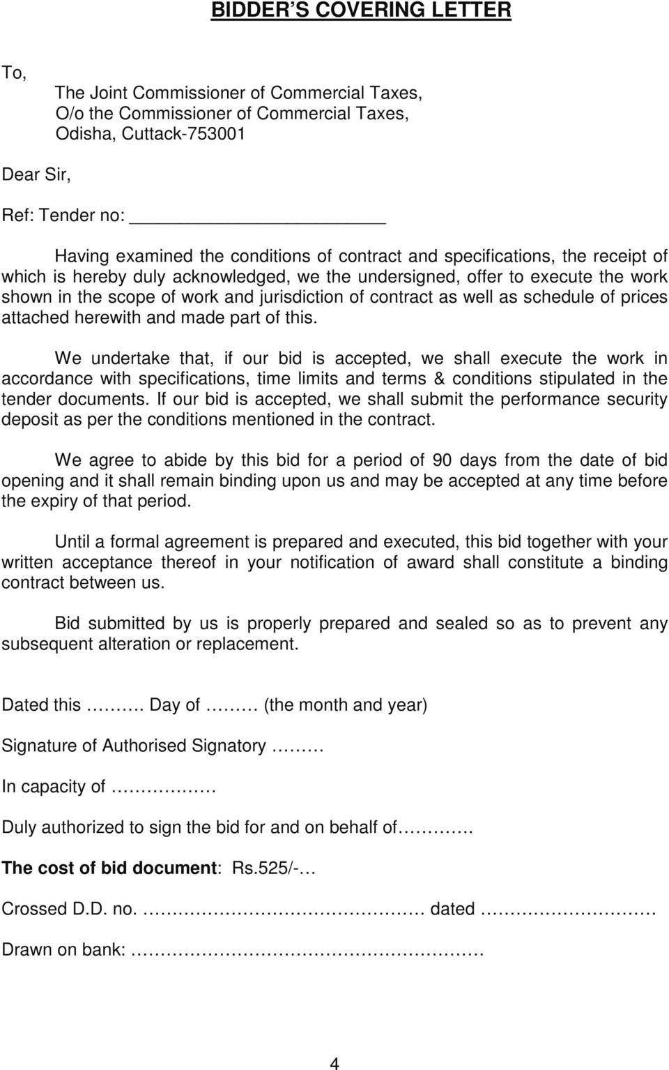 TENDER DOCUMENT FOR SECURITY SERVICE PROVIDER - PDF