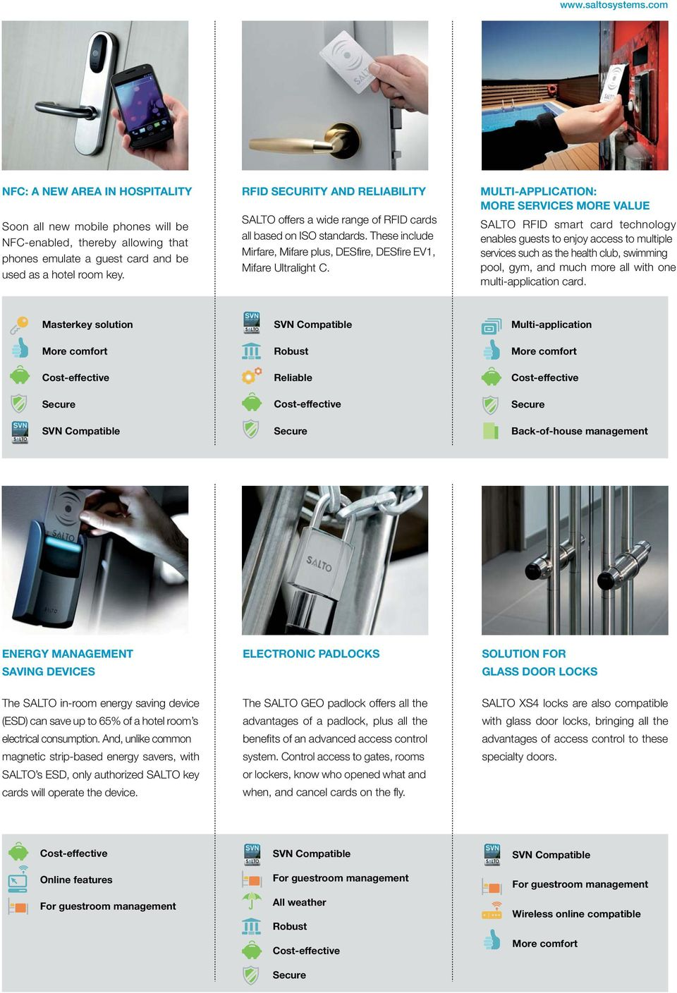 SALTO HOSPITALITY I RFID access control systems MUCH MORE