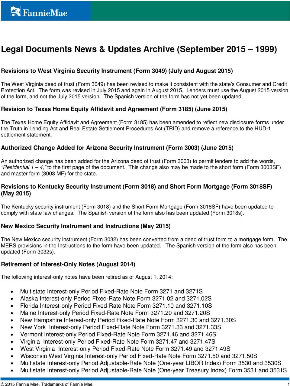Legal Documents News Updates Archive September PDF - Legal document forms
