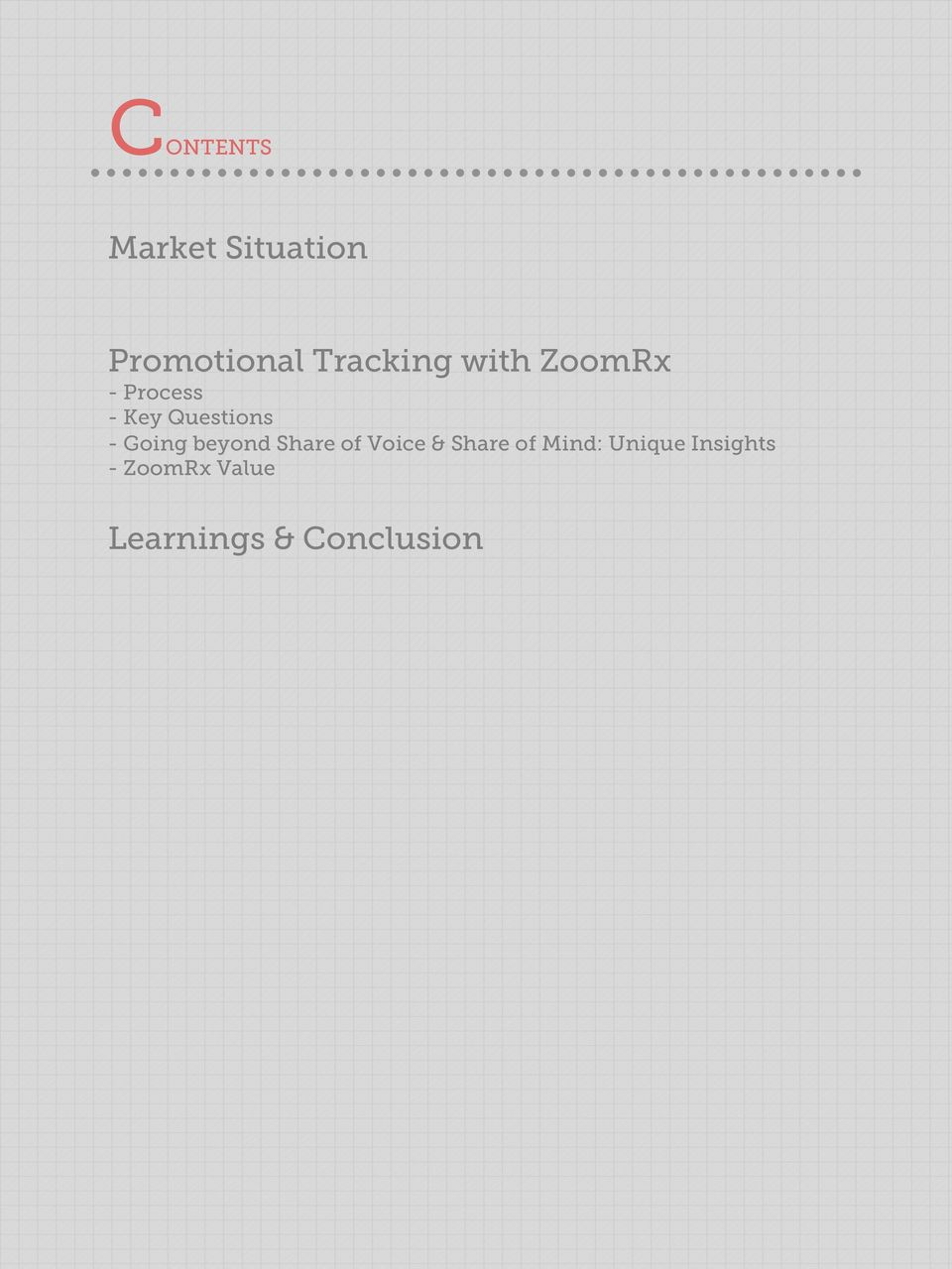 Promotional Tracking with ZoomRx  A Case Study - PDF