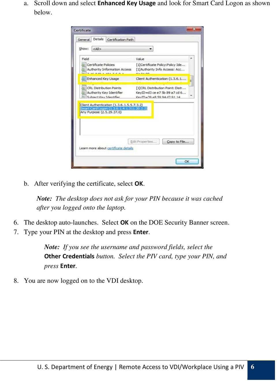 User Guide Remote Access to VDI/Workplace Using PIV - PDF