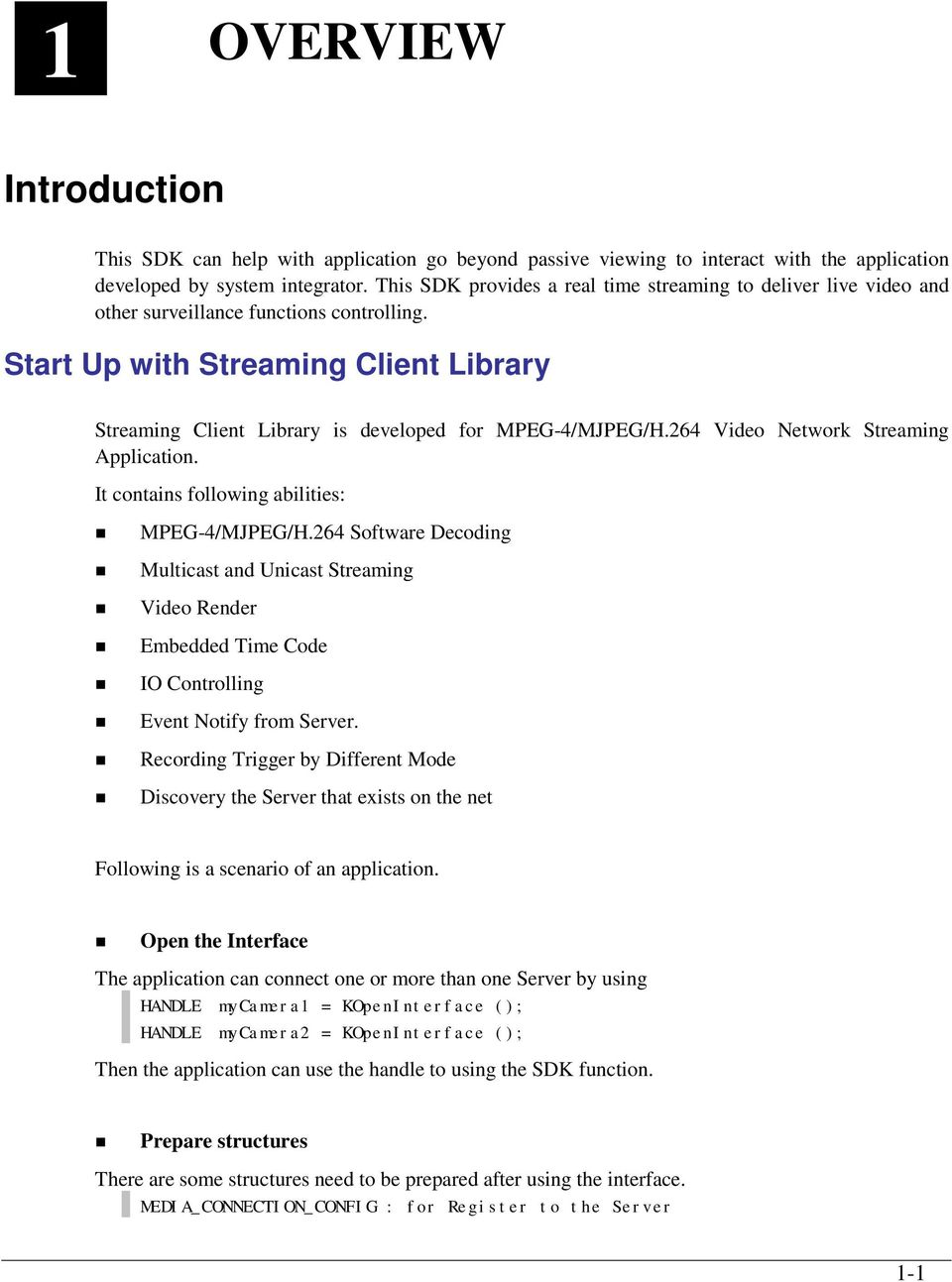 ACTi SDK C Library Edition v1 2 SP1  API Reference Guide - PDF
