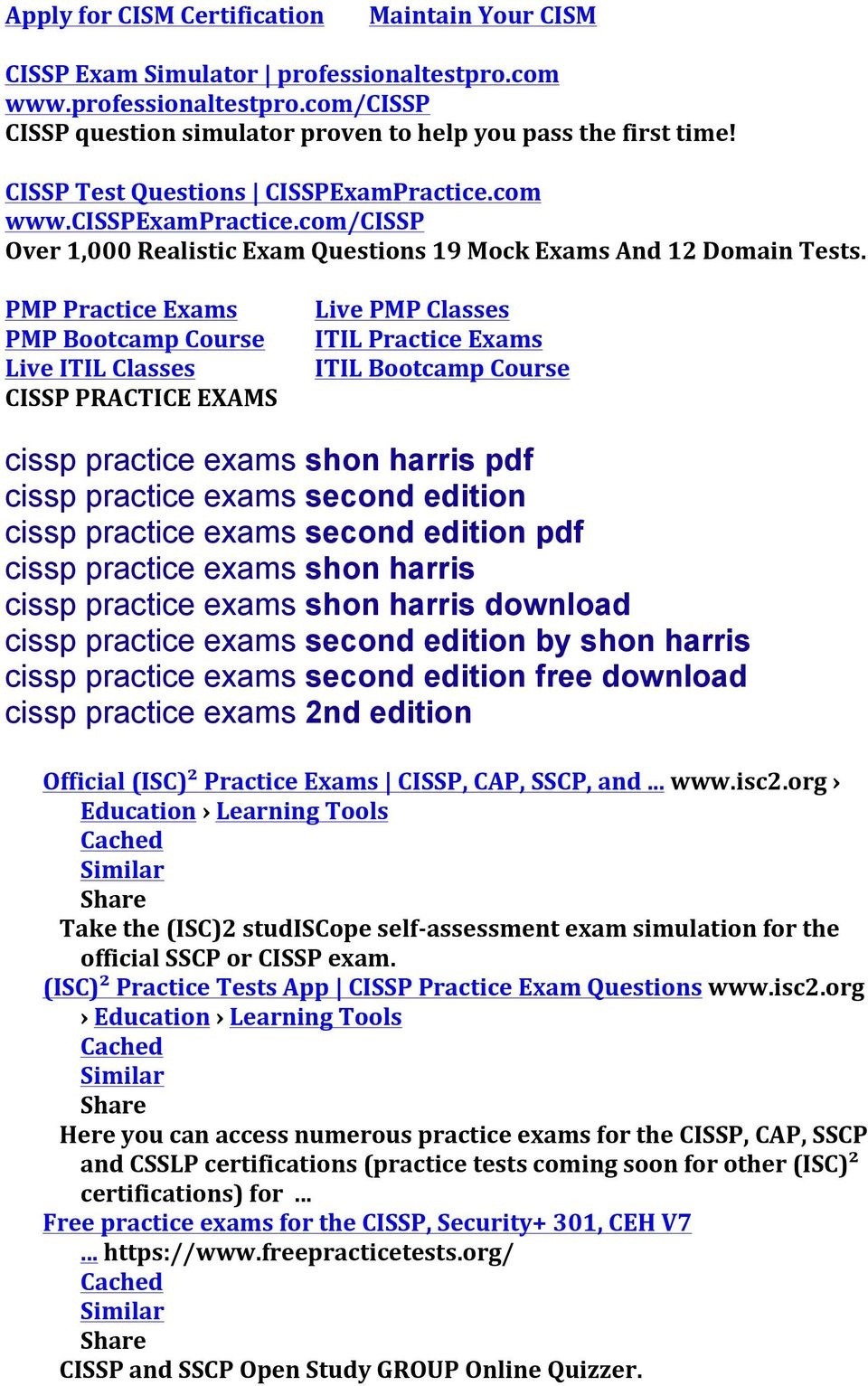 Cissp Exam Simulator Professionaltestpro Sample Cissp