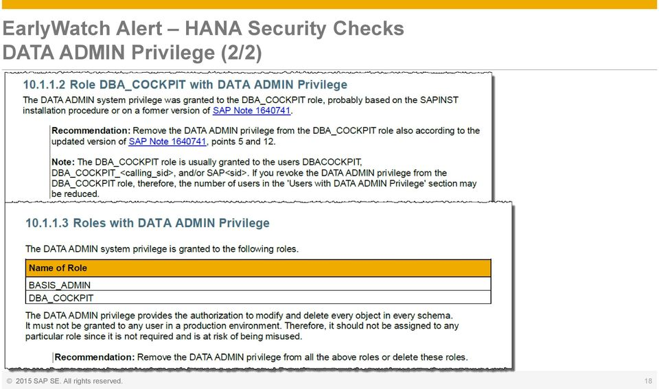 Checking Security Configuration and Authorization   or how