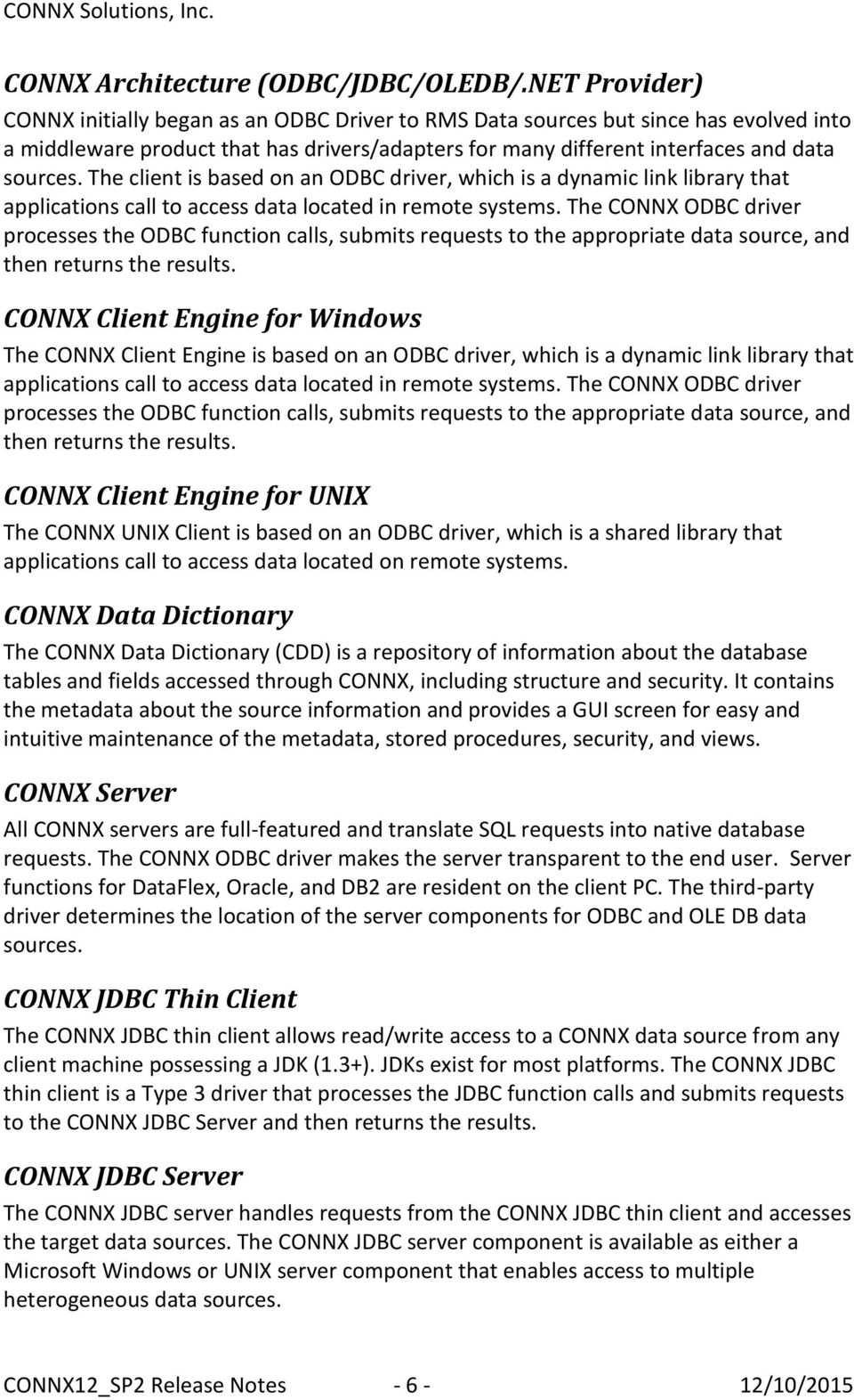CONNX JDBC DRIVER FOR WINDOWS MAC