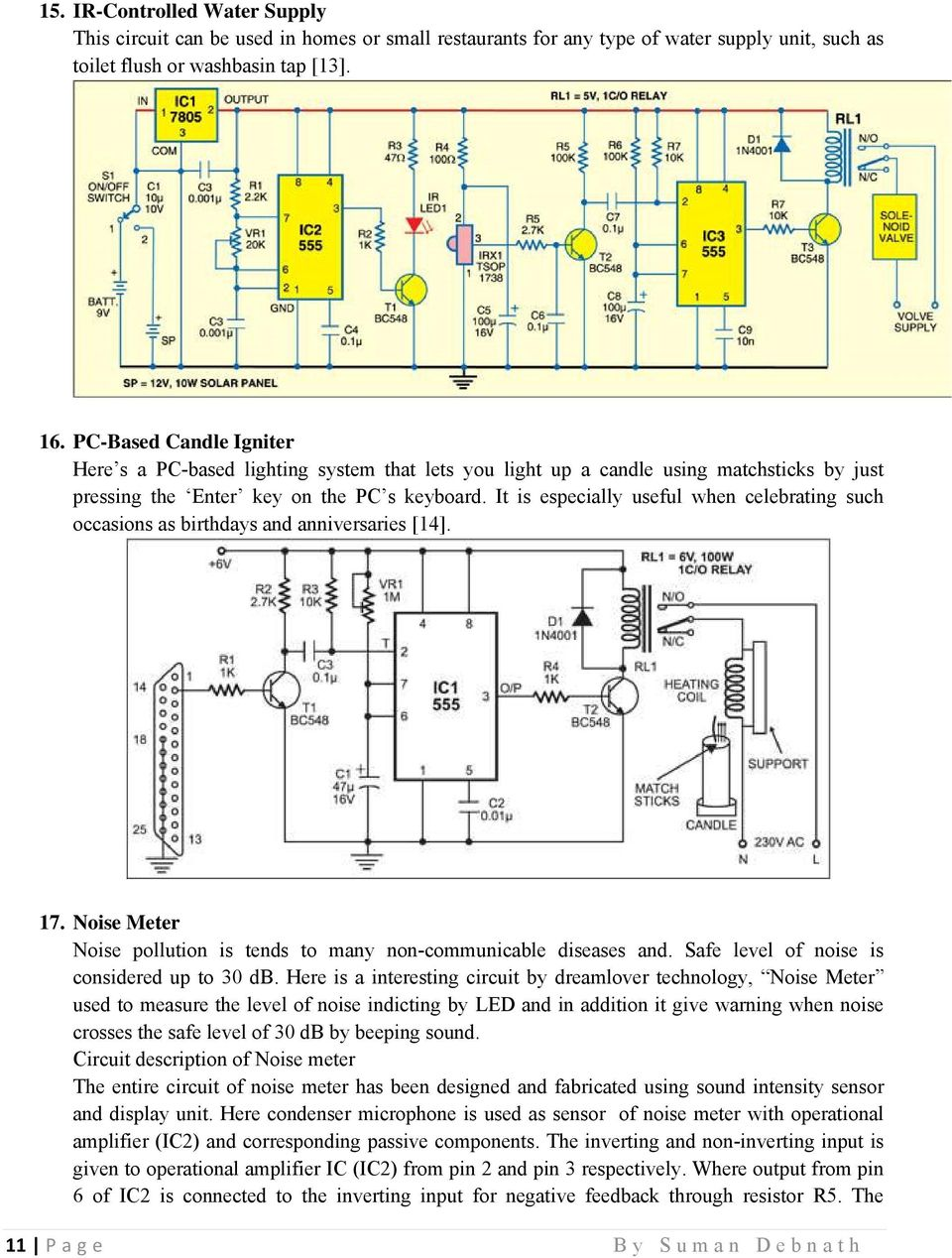 270 Mini Electronics Project With Circuit Diagram Pdf Led Flasher By Ic 4011 Wiring Diagrams It Is Especially Useful When Celebrating Such Occasions As Birthdays And Anniversaries 14