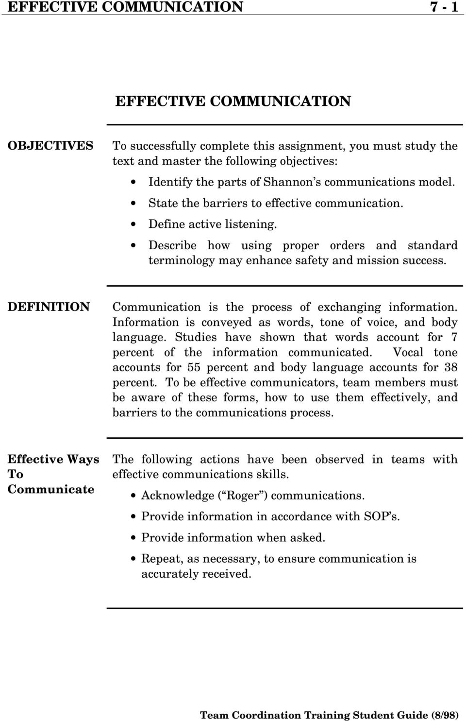 effective communication 7-1 effective communication - pdf