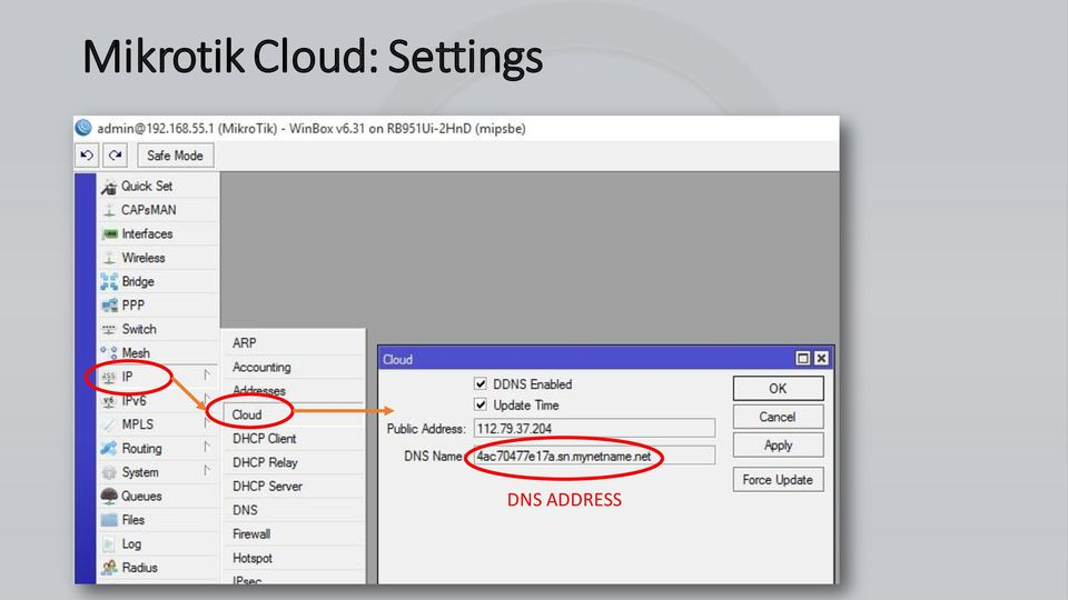 Corporate VPN Using Mikrotik Cloud Feature  By SOUMIL GUPTA