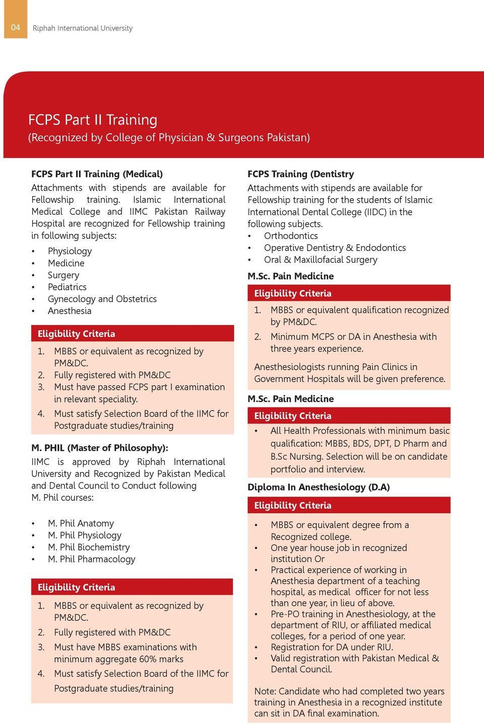 faculty of health & medical sciences - PDF