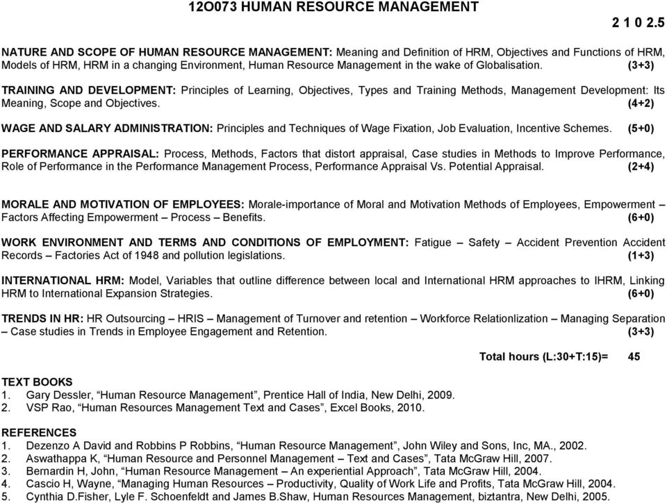 scope of international human resource management