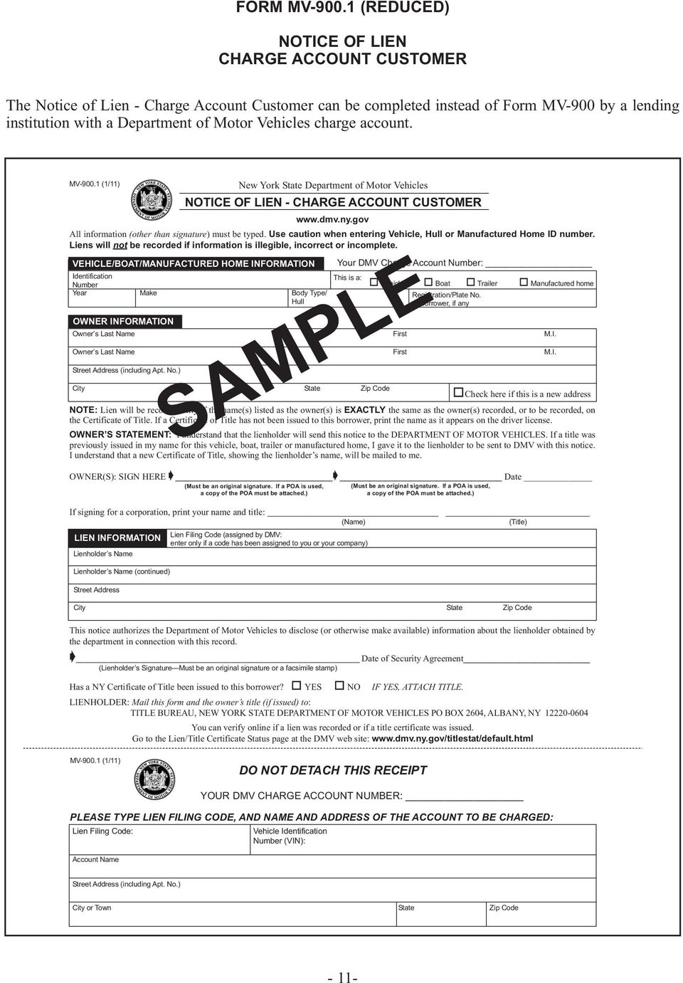 Ny Dmv Registration Form >> New York State Department Of Motor Vehicles Pdf