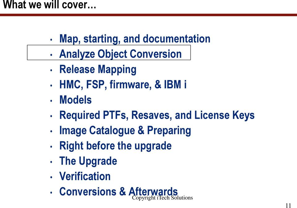 What you need to know to do successful IBM i upgrades to 7 2