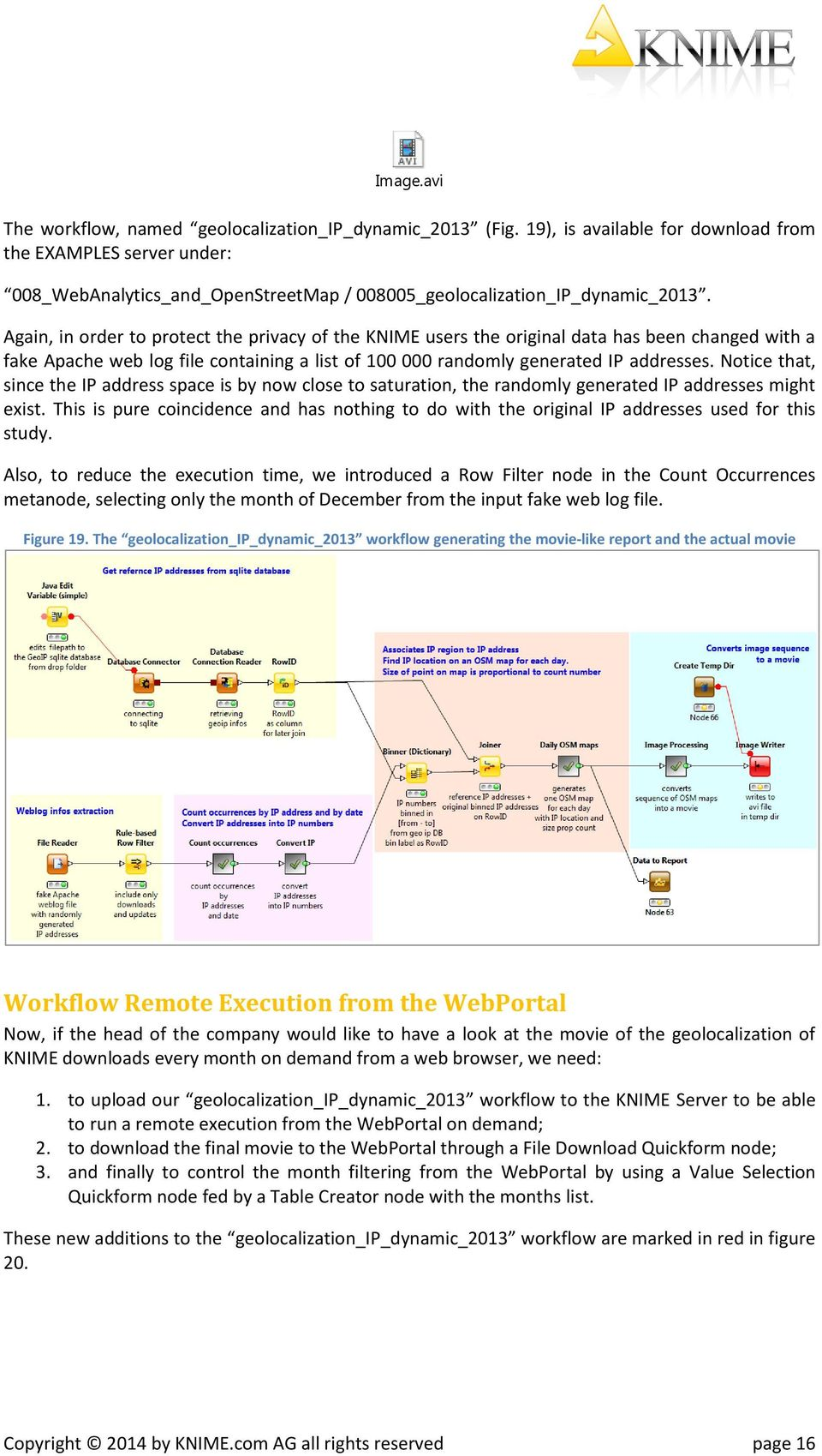 Geo-Localization of KNIME Downloads - PDF