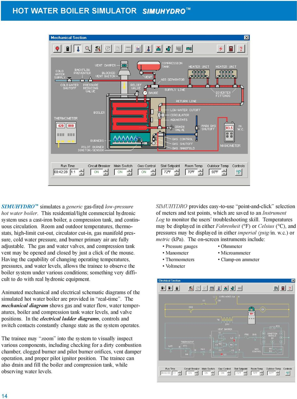 SIMULATION SOFTWARE FOR HVACR TRAINING. Simulator Training Systems - PDF