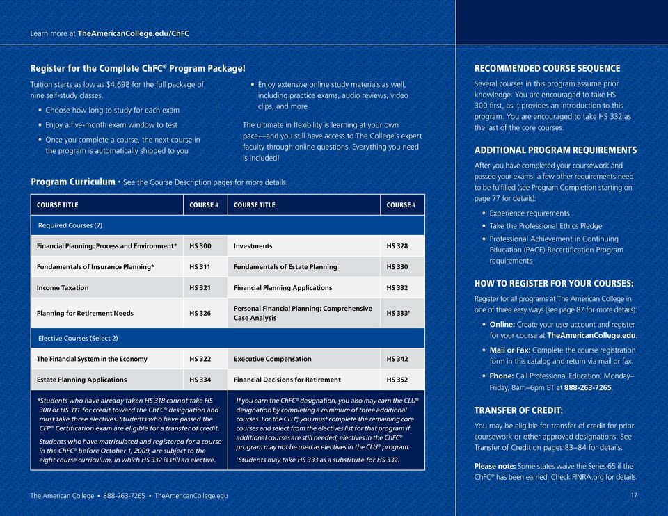 2013 Catalog Financial Education For Securities Banking And