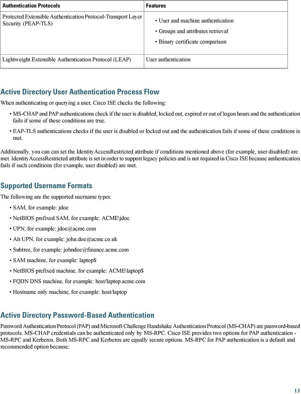 Active Directory Integration with Cisco ISE PDF