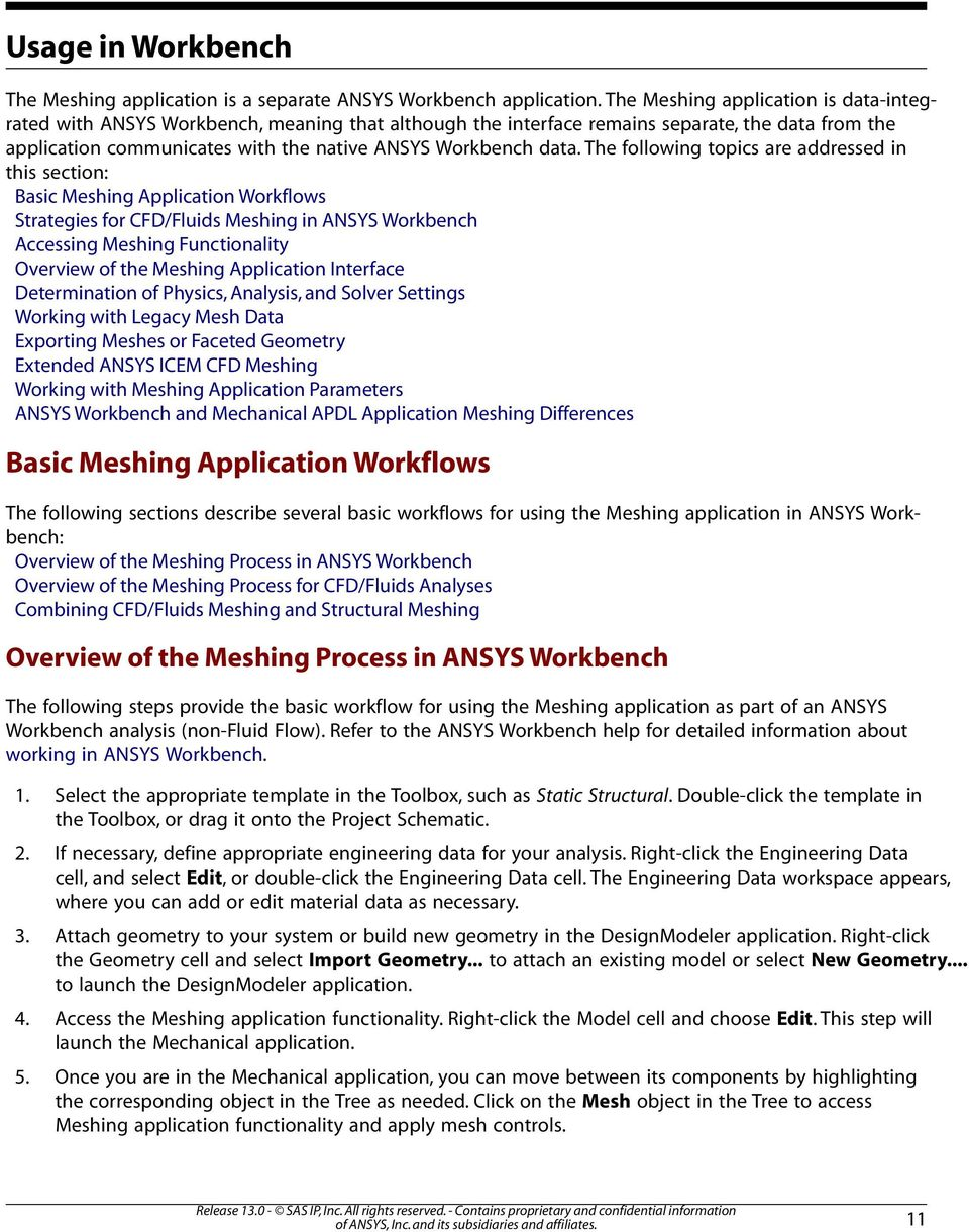ANSYS Meshing User's Guide - PDF