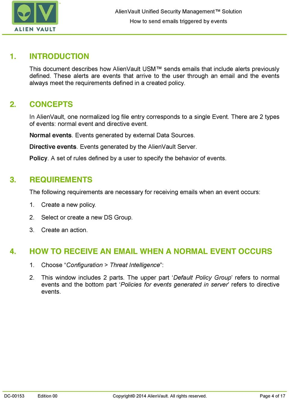How to send s triggered by events - PDF
