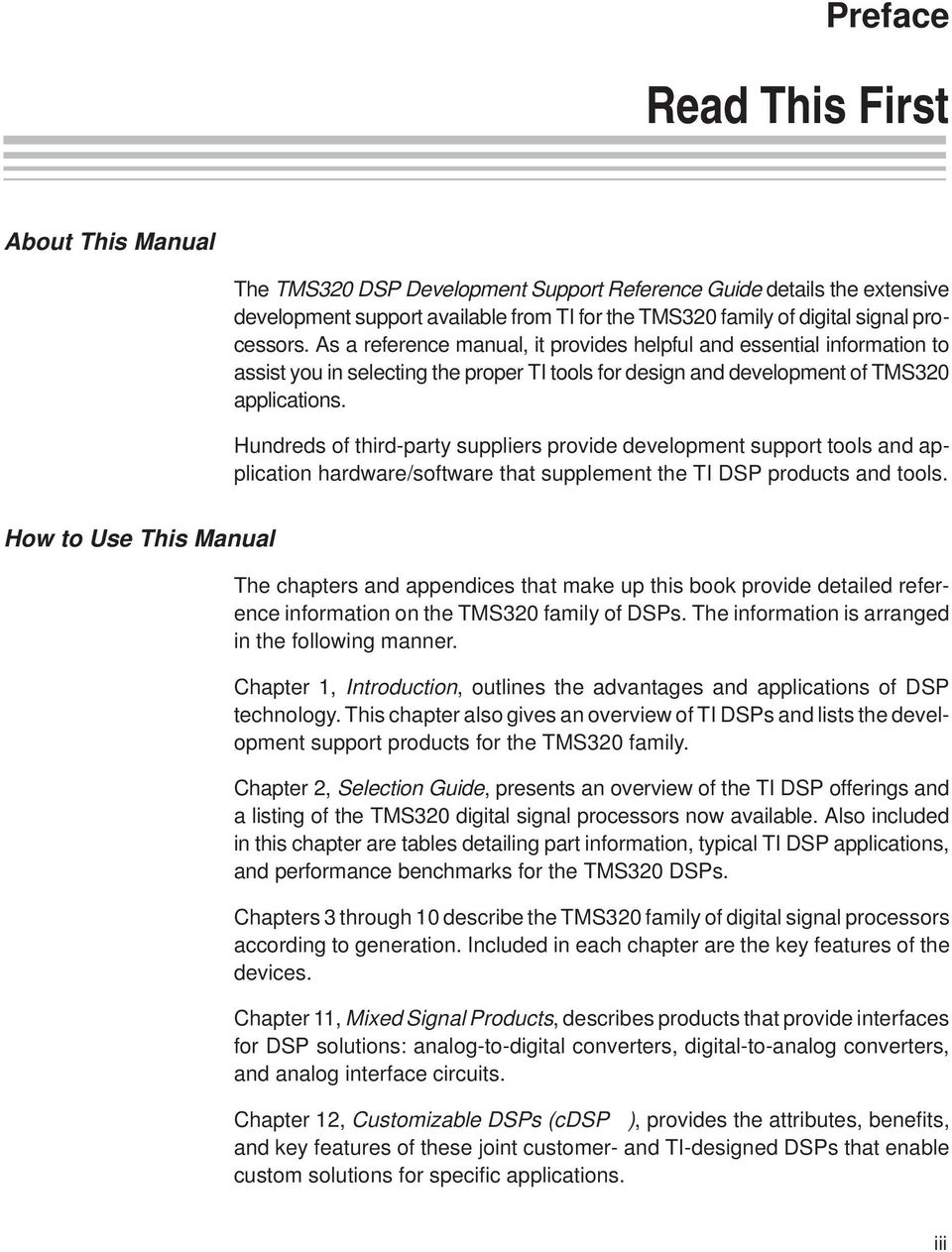 TMS320 DSP Development Support Reference Guide - PDF