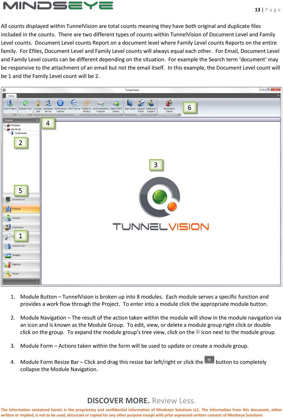 tunnelvision End User Manual version 3 8 discover DISCOVER