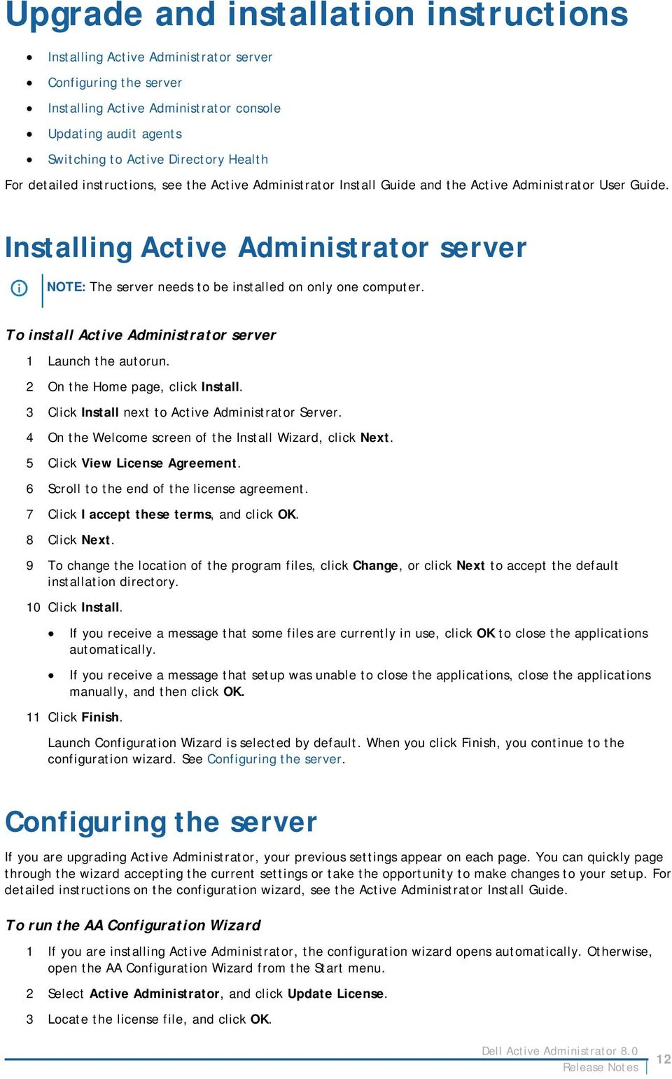 Dell Active Administrator 8 0  About Active Administrator PDF