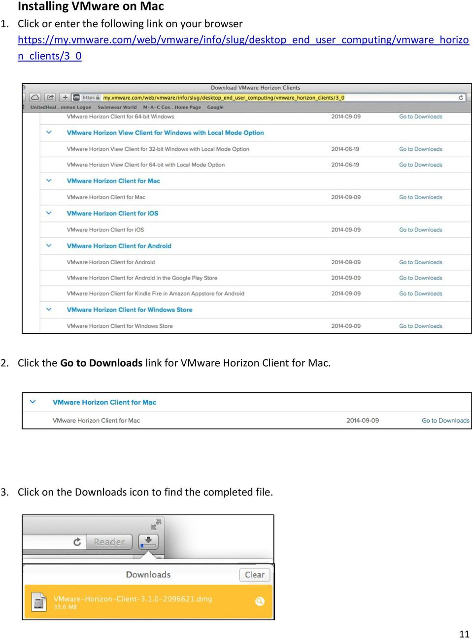 Installing the VMware Horizon View Client to Access Hoag