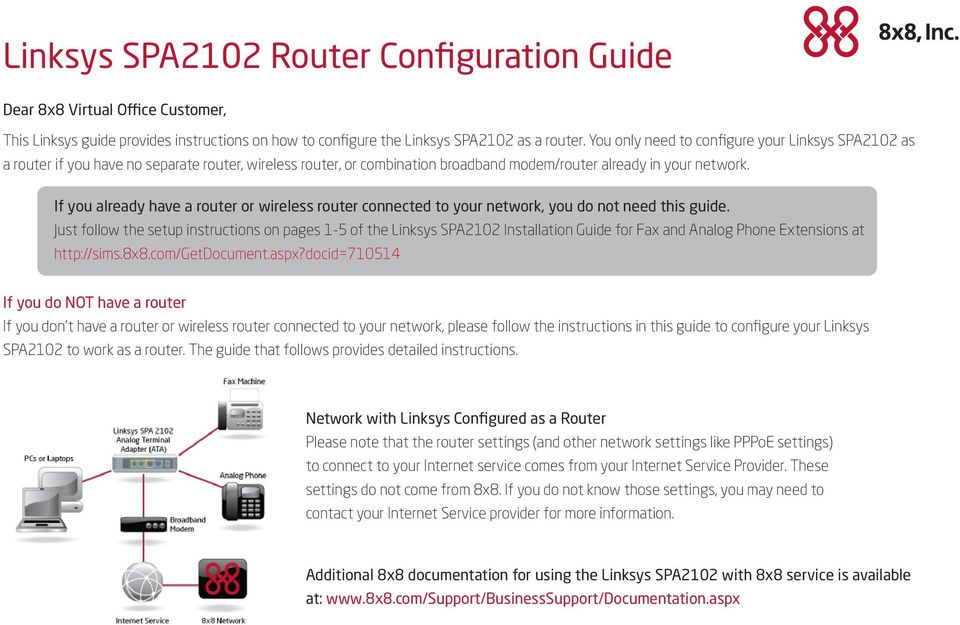 If you already have a router or wireless router connected to your network, you do not need this guide.