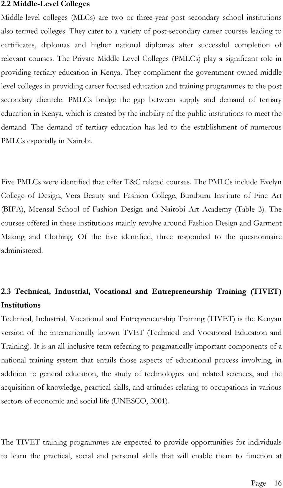 Analysis Of Textile Clothing Training Institutions In The East Southern Africa Pdf Free Download