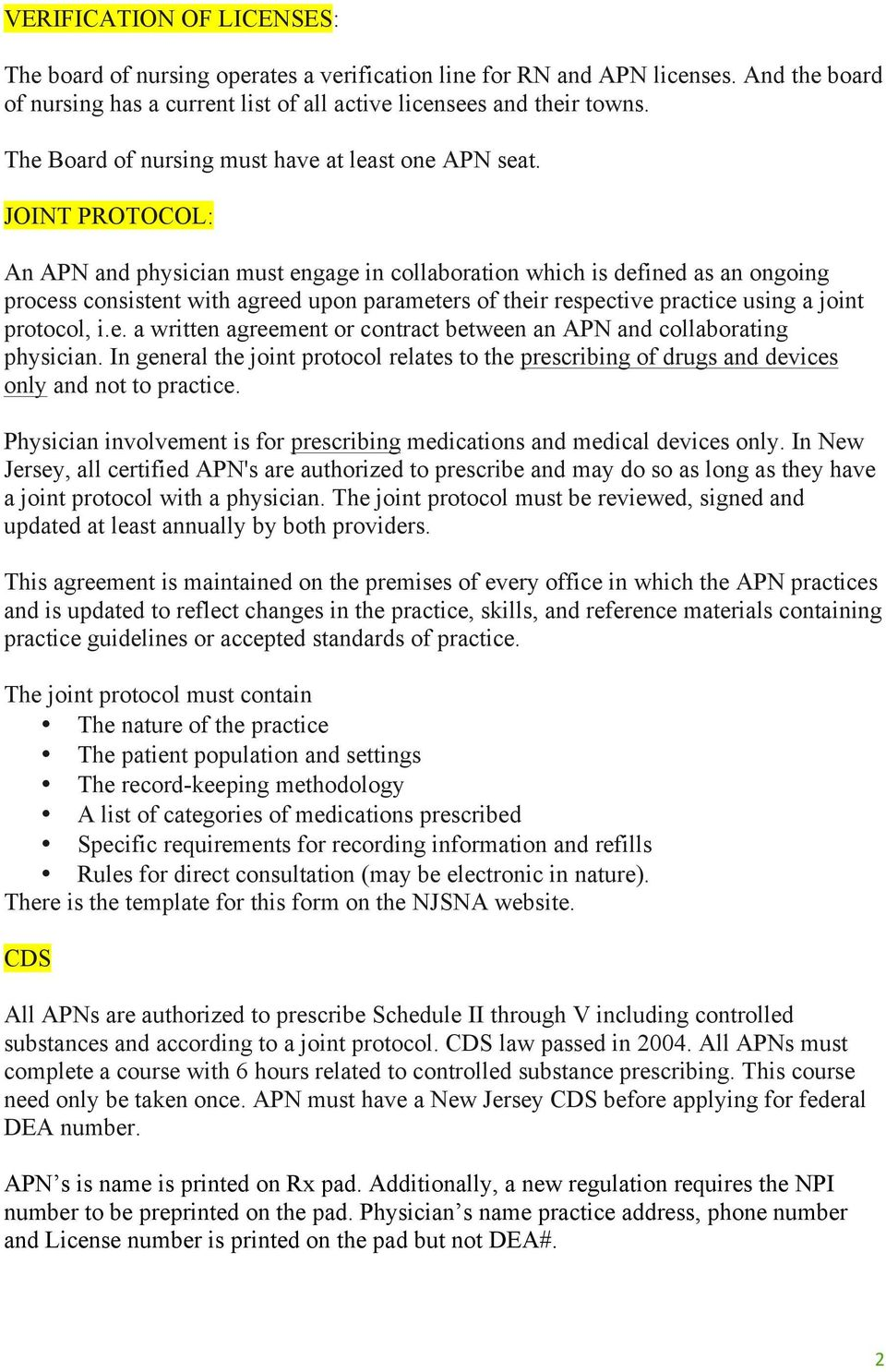 New jersey advanced practice nurses pdf joint protocol an apn and physician must engage in collaboration which is defined as an maxwellsz