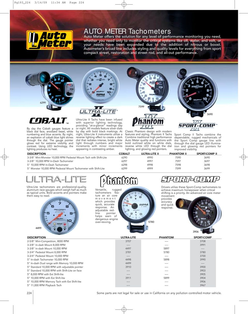 3904 Auto Meter Tachometer Wiring Diagram Trusted Diagrams Sun Tune 2641 Circuit And Hub U2022