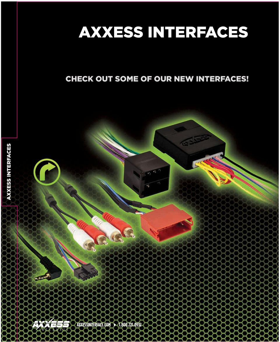 New Direct Connect Improved Product Usb Updatable And Axxess Interface Wiring Diagram Tundra Com 4 1800221