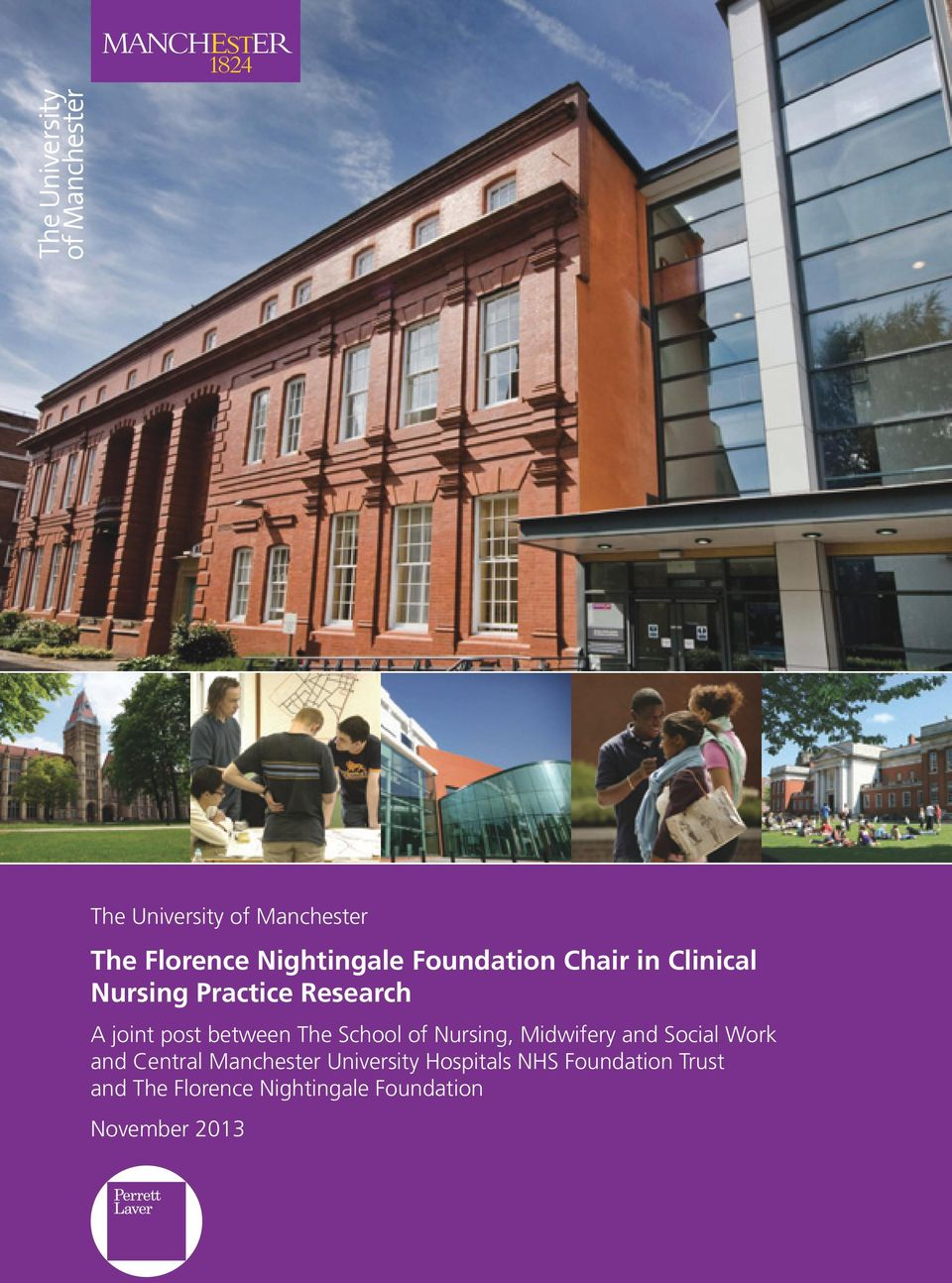 Nursing, Midwifery and Social Work and Central Manchester University