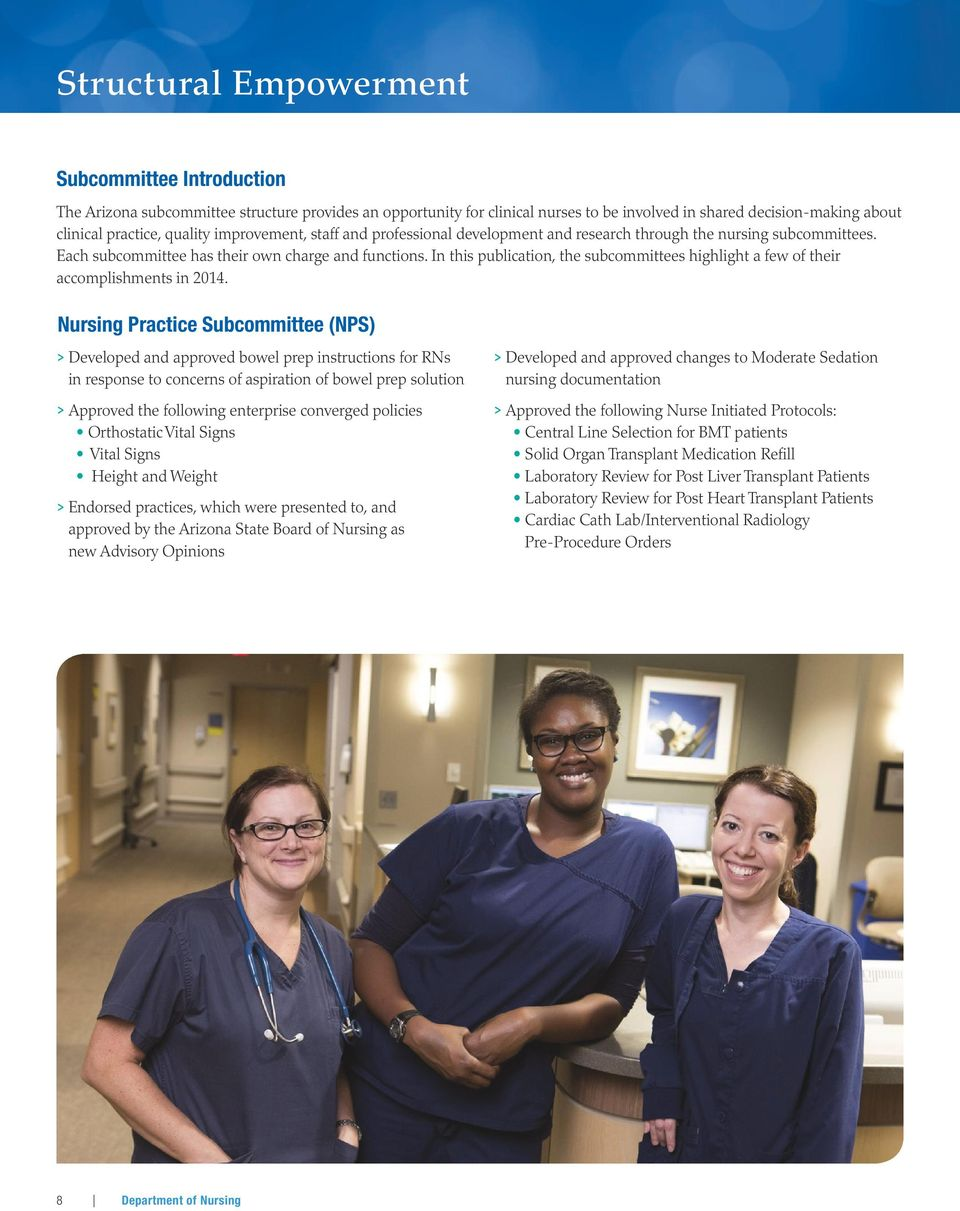 MAYO CLINIC IN ARIZONA Department  of Nursing - PDF