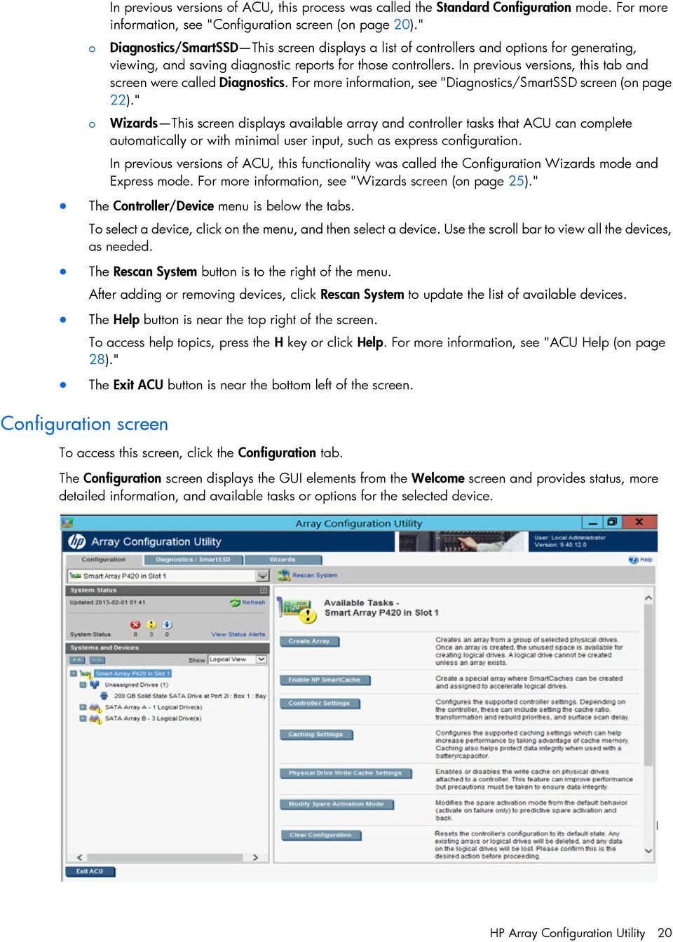 Configuring Arrays on HP Smart Array Controllers Reference Guide - PDF