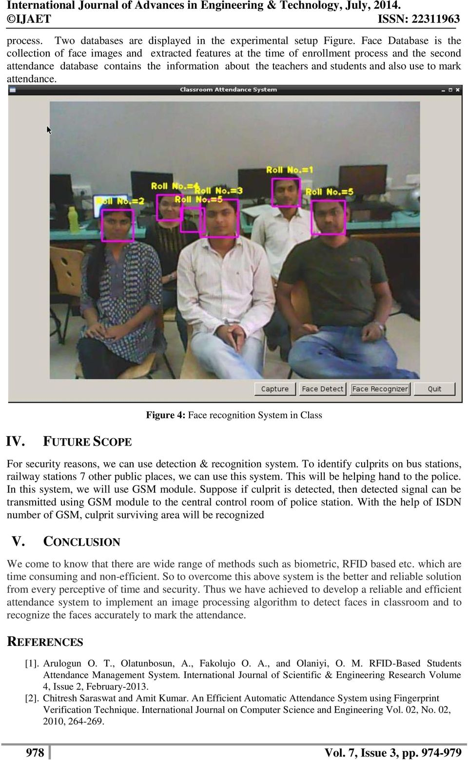 Attendance System Using Face Recognition Webcam