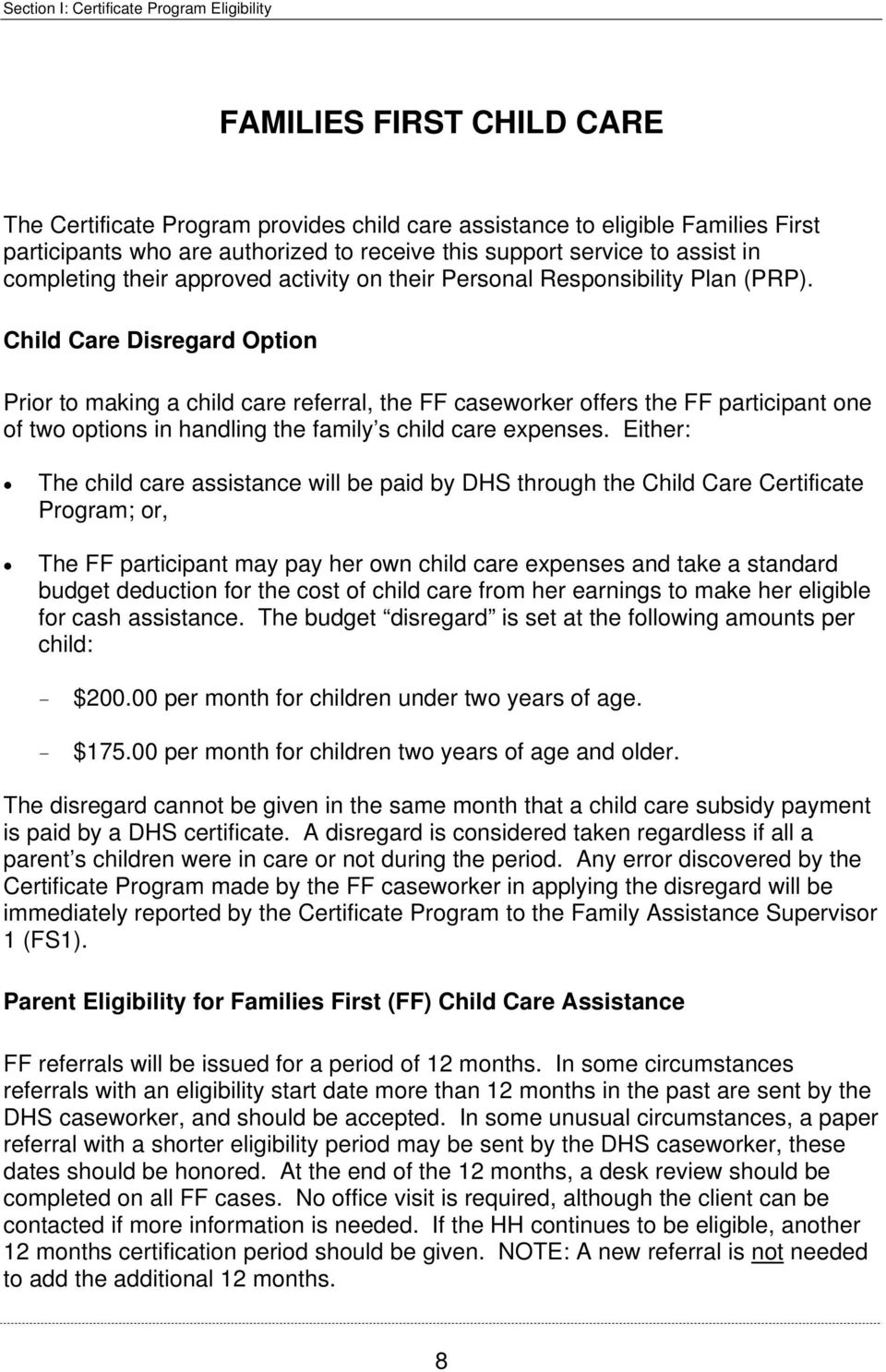 State Of Tennessee Department Of Human Services Child Care
