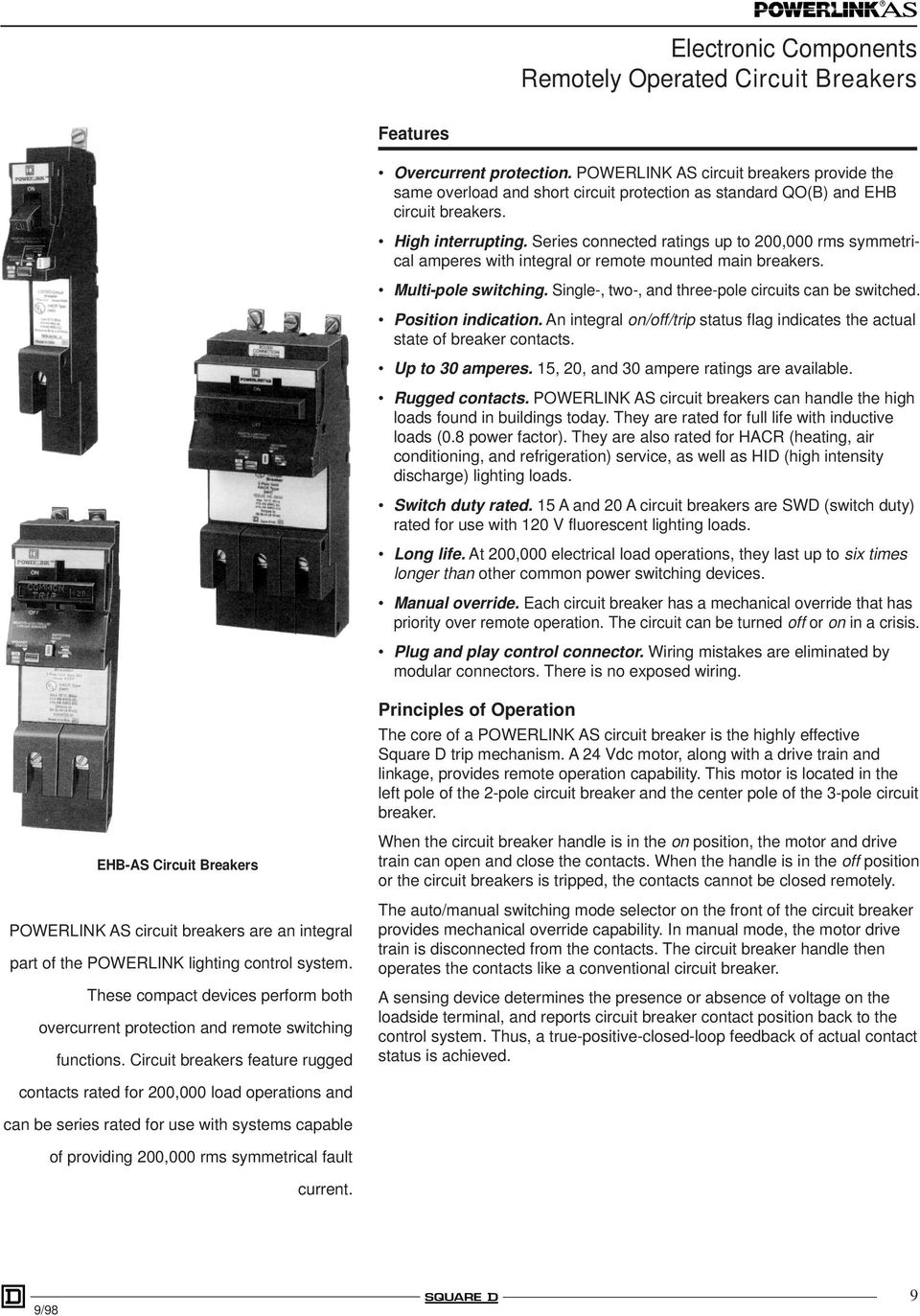 Lighting Control System Catalog Class Pdf The Circuit Breaker Is A Switch Designed To Automatically Shut Off Series Connected Ratings Up 200000 Rms Symmetrical Amperes With Integral Or Remote Mounted Main Breakers