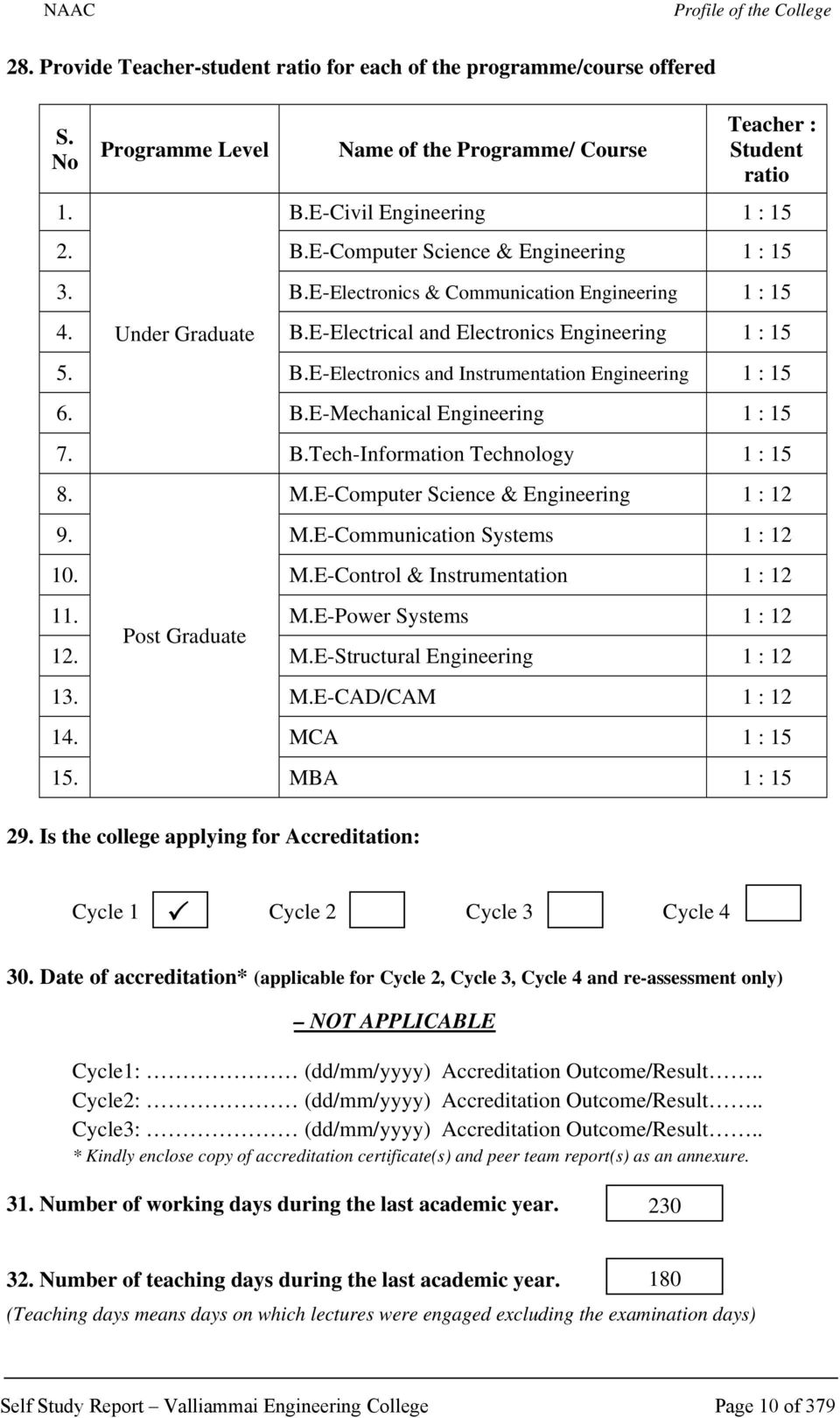 National Assessment And Accreditation Council Bangalore India Pdf 3d Plant Cell Diagram 8 Grade Image Galleries Imagekbcom Be Mechanical Engineering 1 15 7 Btech Information Technology