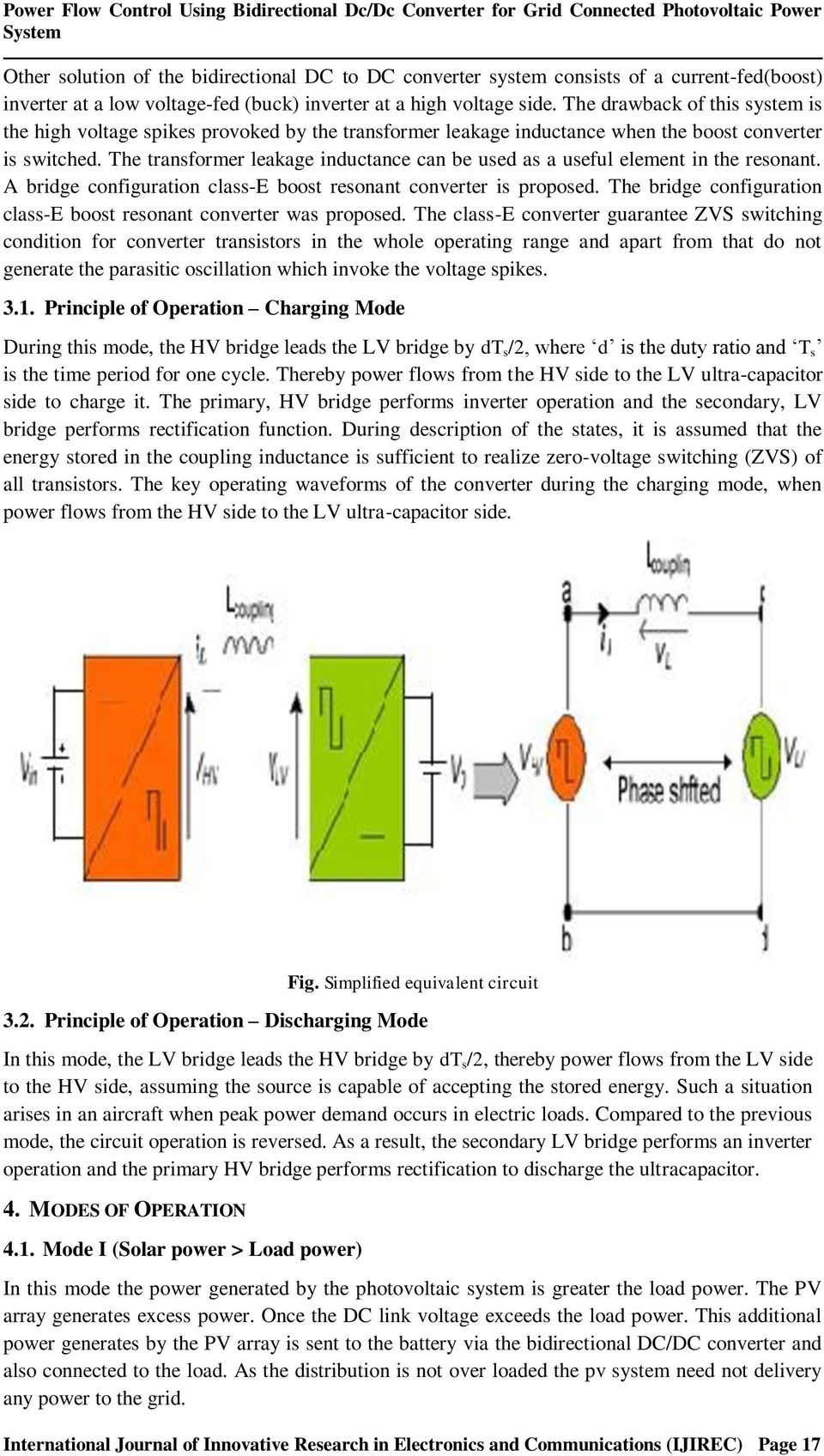 Power Flow Control Using Bidirectional Dc Converter For Grid Solar Panel Optimizer Circuit Electronic Projects The Drawback Of This System Is High Voltage Spikes Provoked By Transformer Leakage Inductance