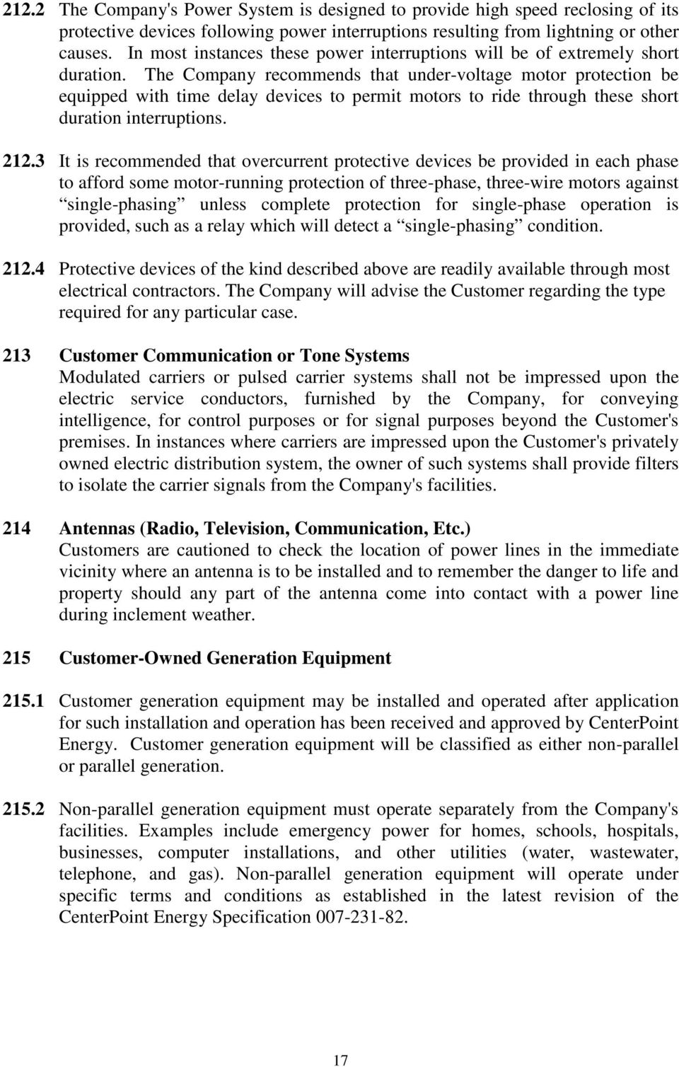 Changes in the 10/2/2013 Revision of the CNP Service Standards Book ...