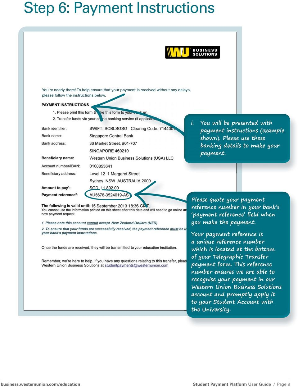 Western Union Business Solutions GlobalPay for Students platform ...