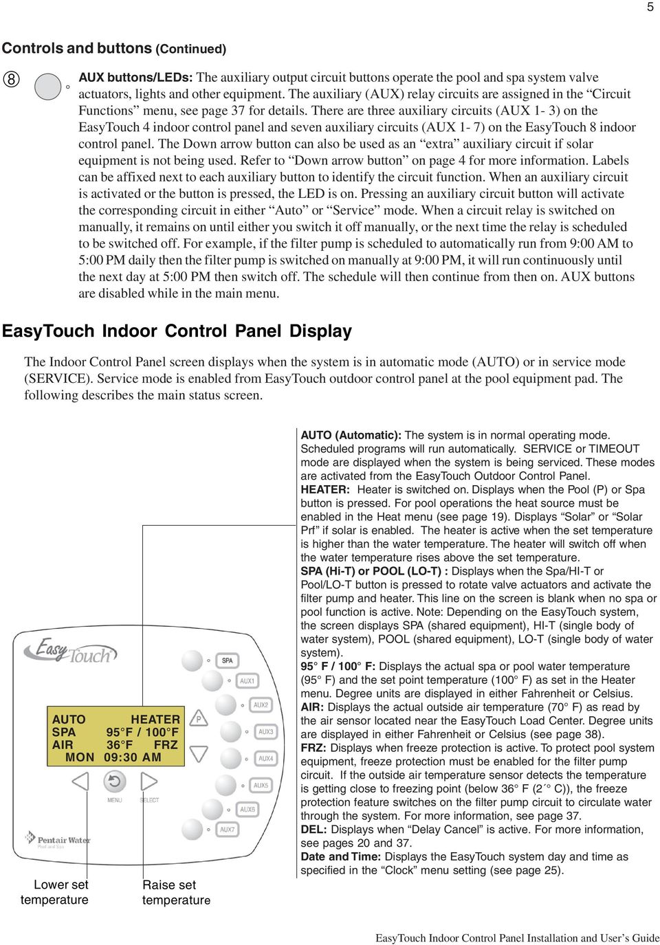 Wiring Diagram For Pentair Easy Touch Electrical Diagrams Challenger Is4 4 Wire Hydro Quip Easytouch 8