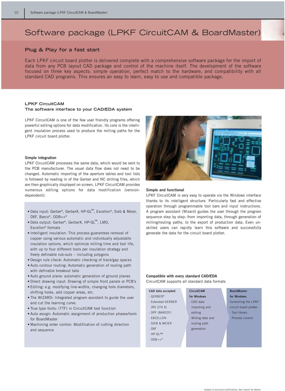 Rapid Pcb Prototyping Product Catalog 02 03 Pdf Electronic Circuits Software Pic Electrical Cad Electronics The Development Of Focused On Three Key Aspects Simple Operation Perfect Match