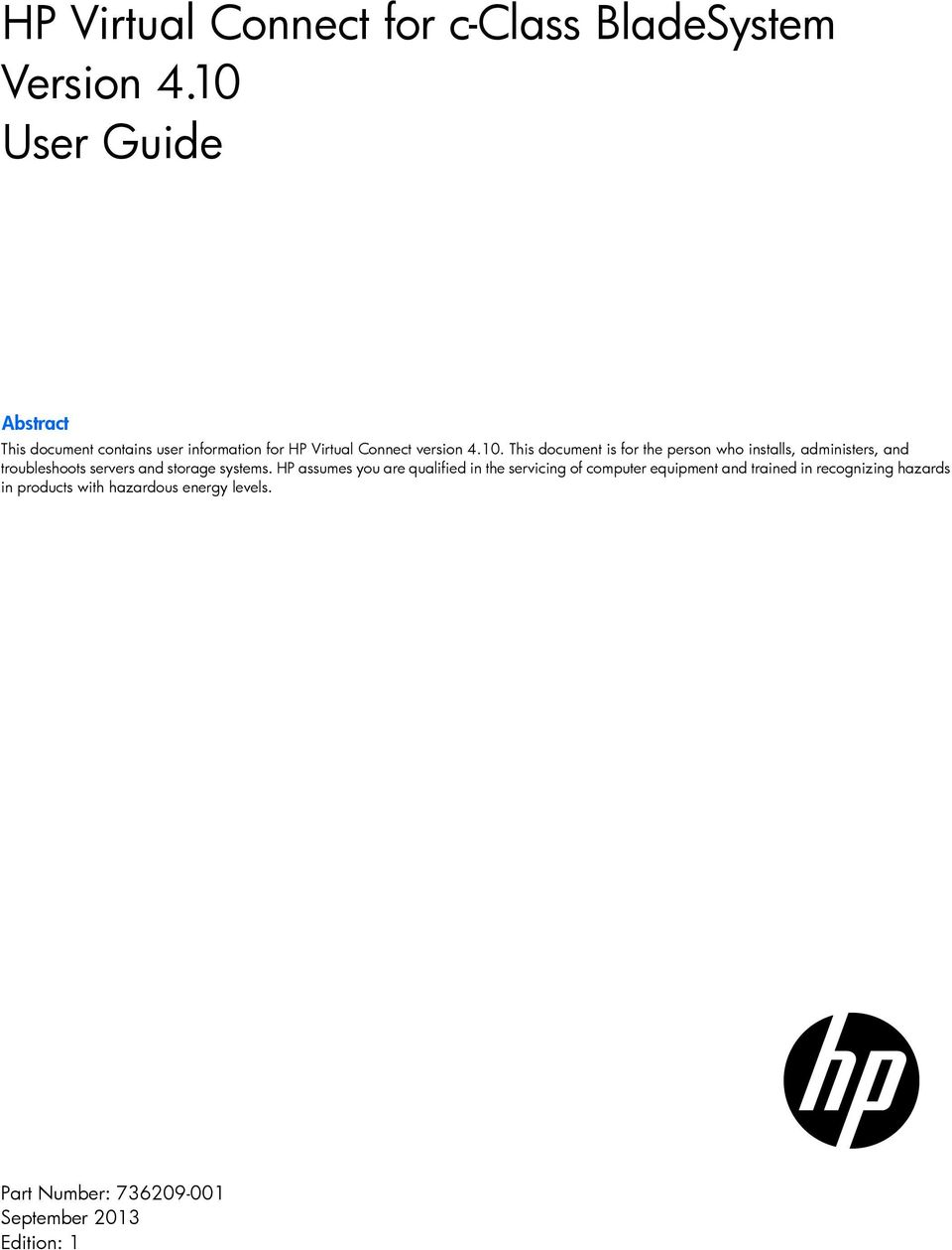 hp virtual connect for c class bladesystem version 4 10 user guide pdf rh docplayer net