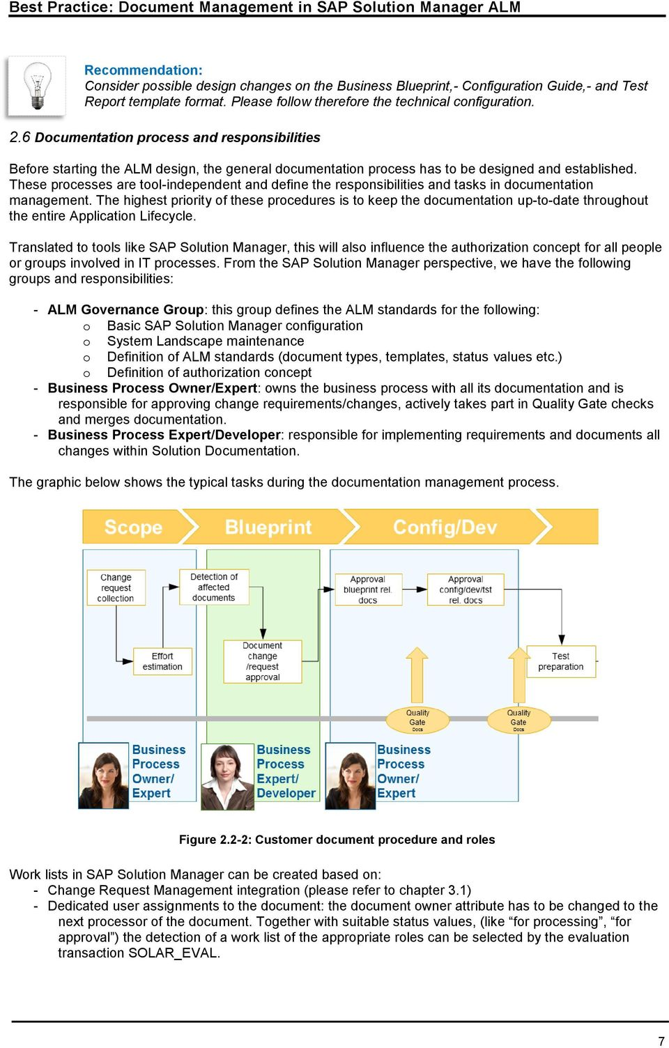 Document management in sap solution manager application lifecycle these processes are tool independent and define the responsibilities and tasks in documentation management malvernweather Image collections