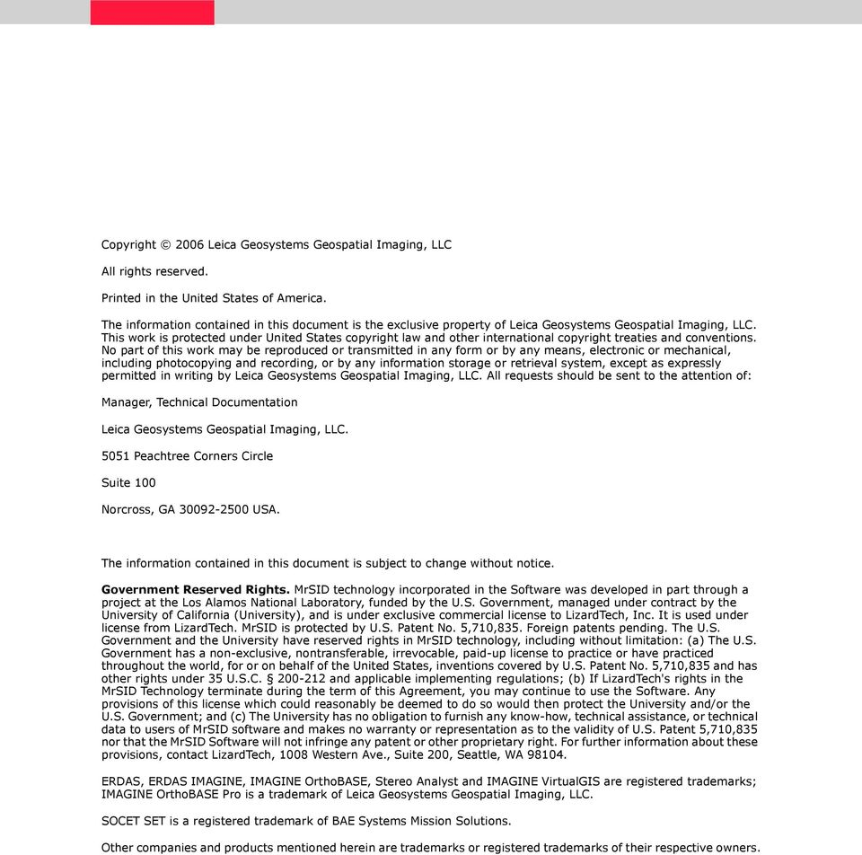 Leica Photogrammetry Suite Project Manager - PDF