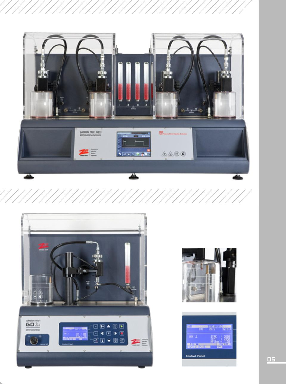 Carbon Tech Series GS8 GS4 GS2  GASOLINE injector equipment  The
